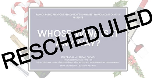 RESCHEDULED | Whose Wine is it Anyway?