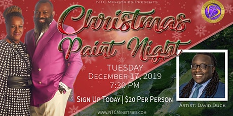 Christmas Paint Night tickets
