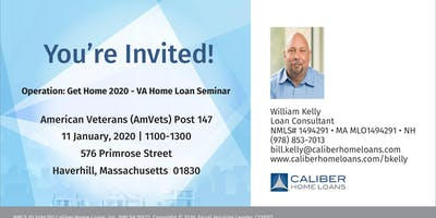 Operation Get Home 2020 - VA Home Seminar