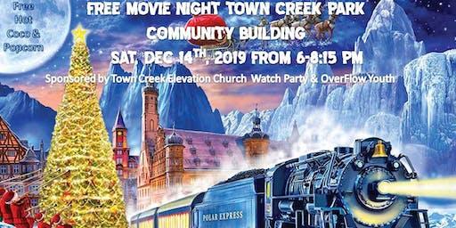 Polar Express Movie Night