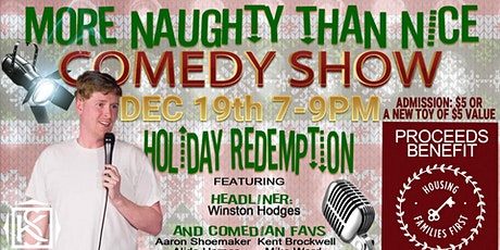 More Naughty than Nice Comedy Show tickets