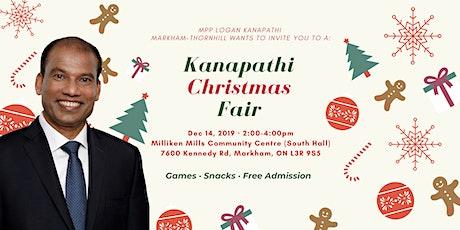 MPP Logan Kanapathi Markham-Thornhill Christmas Fair tickets