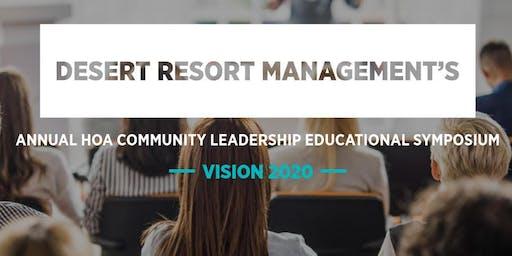 DESERT RESORT MANAGEMENT'S ANNUAL EDUCATIONAL SYMPOSIUM