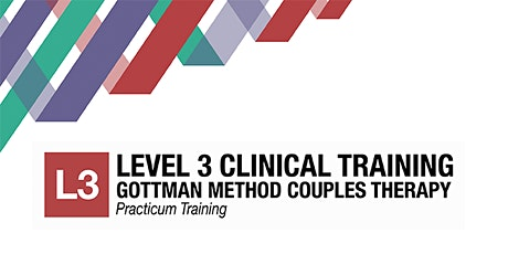 Gottman Level 3 Couples Therapy Clinical Training tickets