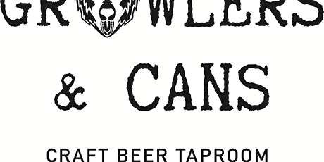 Growlers and Cans local gin tasting. tickets