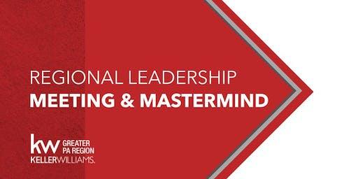 Regional Leadership Meeting and Mastermind