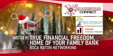 Free Boca Raton Rockstar Connect Networking Event (December, Florida) tickets