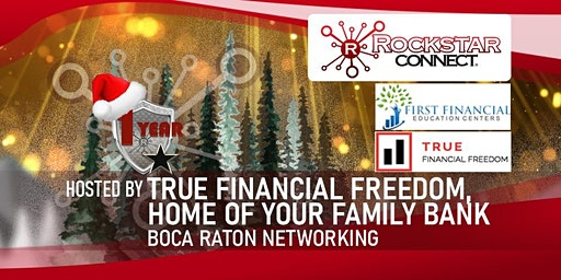 Free Boca Raton Rockstar Connect Networking Event (December, Florida)