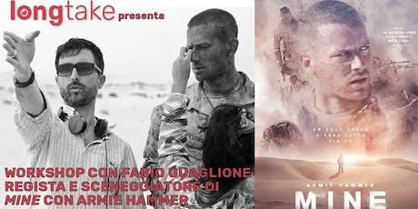 Workshop con Fabio Guaglione: regista, produttore e sceneggiatore cinematografico biglietti