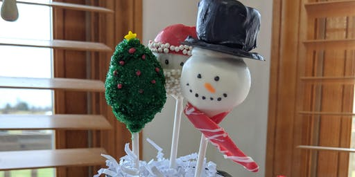 Christmas Cake Pops Pickup