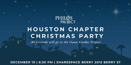 Houston Chapter Christmas Party tickets