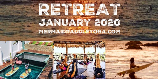 Stand Up Paddleboard Yoga and Surf Retreat with Kelly-Ann La Sirena