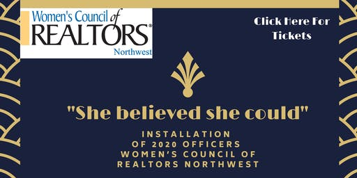 Women's Council of Realtors Northwest, 2020 Officers Installation