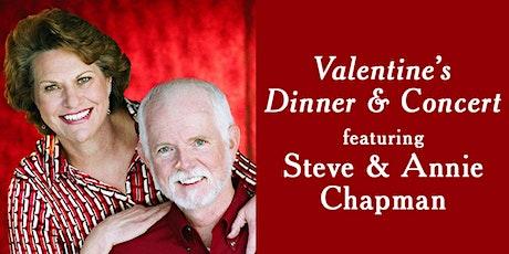 Valentine's Dinner & Concert featuring Steve & Annie Chapman tickets