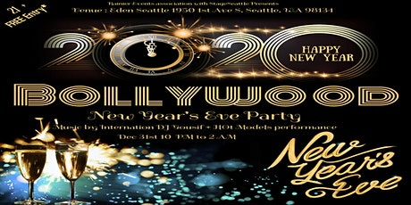 Seattle Bollywood 2020 New Year's Eve Mega Party   tickets