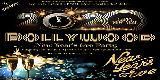 Seattle Bollywood 2020 New Year's Eve Mega Party