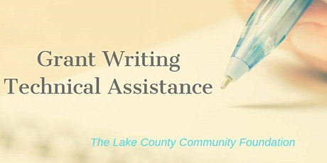 LCCF Grant Writing Technical Assistance Session tickets