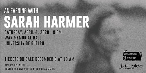 An Evening with Sarah Harmer