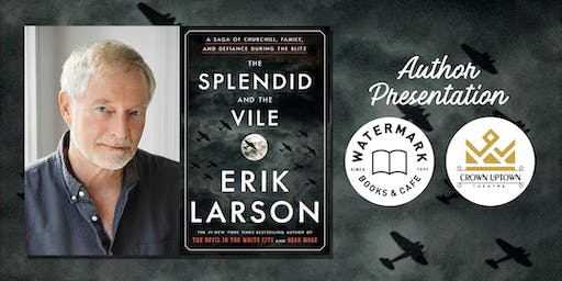 An Evening with New York Times Bestselling Author Erik Larson!