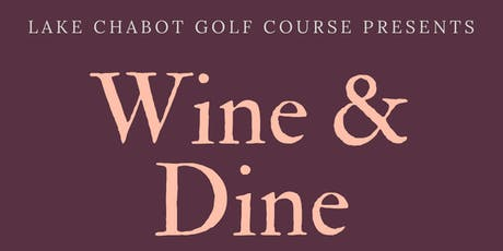 Wine & Dine tickets