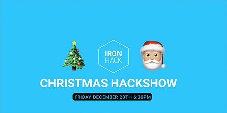 Christmas Hackshow entradas