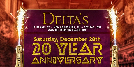 Delta's 20 Year Anniversary tickets