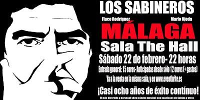 Los Sabineros regresan a Málaga! Sala The Hall!