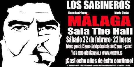Los Sabineros regresan a Málaga! Sala The Hall! tickets