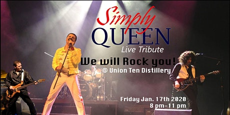 We will rock you! Simply Queen Performance tickets