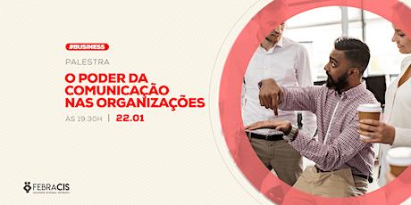 [POA] Palestra O Poder da Comunicação nas Organizações 22/01/2020 ingressos