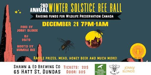 Winter Solstice Bee Ball