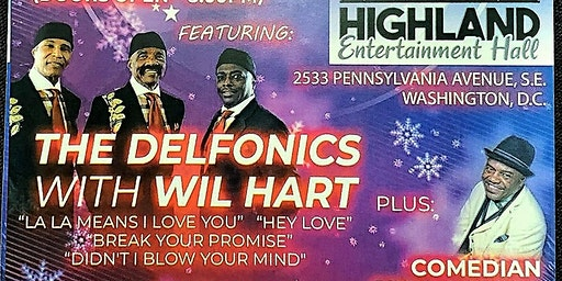 A Live Show & Christmas Party Featuring: The Delfonics with Will Hart