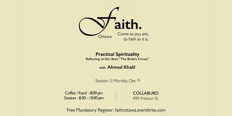Faith. Ottawa - Practical Spirituality tickets