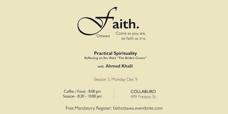 Faith. Ottawa - Practical Spirituality tickets