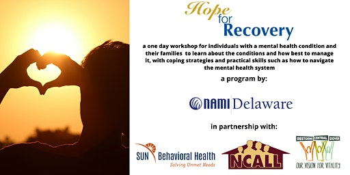 Hope for Recovery - Free Interactive Workshop in Dover