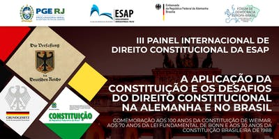 III Painel Internacional de Direito Constitucional da ESAP