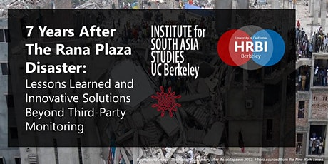 7 Years After the Rana Plaza Disaster: New Book Launch tickets