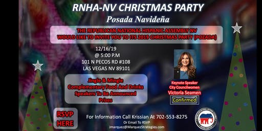 RNHA NV Christmas Party