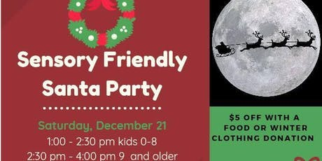 Sensory Friendly Santa Party Kids 9 and Older tickets