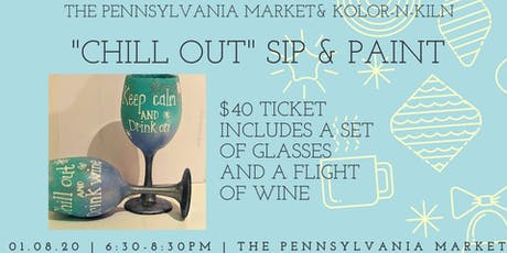 Sip and Paint with Kolor N Kiln at The Pa Market tickets