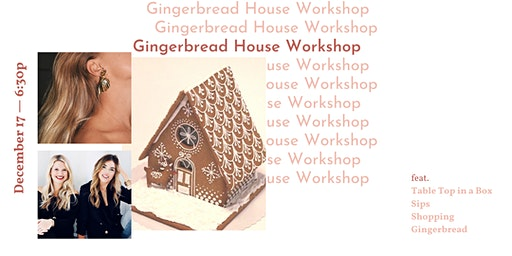 Gingerbread Dream House Workshop!