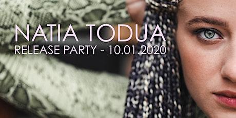 NATIA TODUA Release Party/Konzert zum ersten Album MISS YOU am 10.01.2020 Tickets