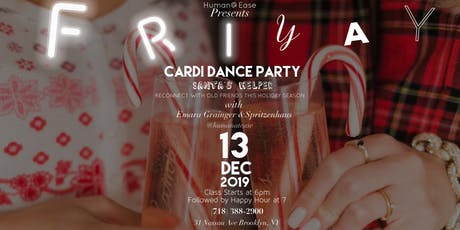 FriYay Cardi Dance Party Santa's Helper+ Happy Hour  tickets