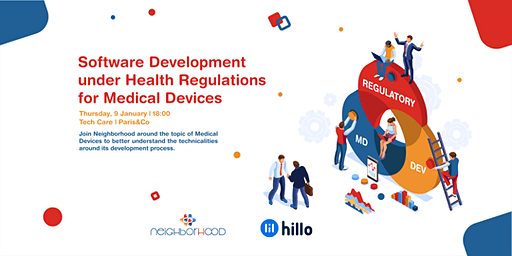 Software Development under Health Regulations for Medical Devices