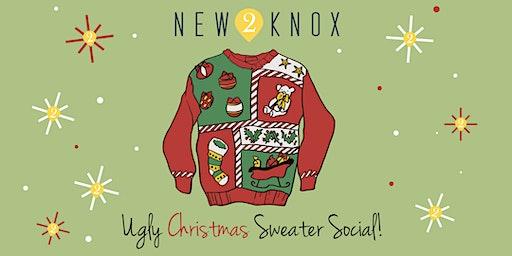 New2Knox Ugly Christmas Sweater SOCIAL