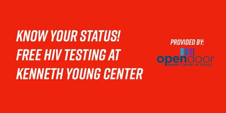 Free Rapid HIV Testing tickets
