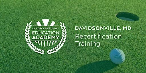 Landscape Supply Recertification Training - Davidsonville, MD