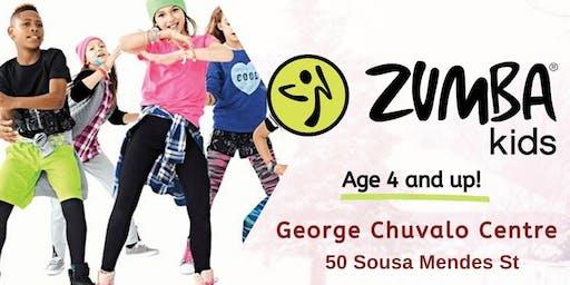 Zumba Kids @ G. Chuvalo Centre