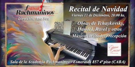 Festival Rachmaninov - Recital de Navidad entradas