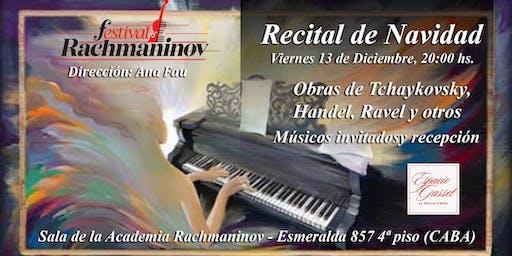 Festival Rachmaninov - Recital de Navidad